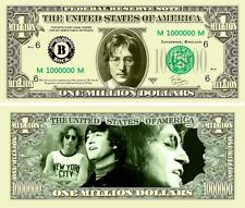 John Lennon Classic-Style Million Dollar Collectible Funny Money Novelty Note