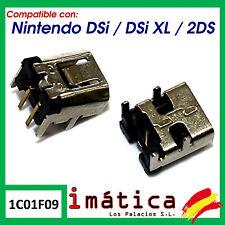 CONECTOR DE CARGA PARA NINTENDO DSI / DSI XL / 2DS POWER JACK USB PUERTO CONSOLA