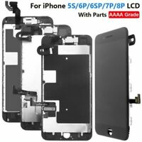 For iPhone 5s 6 6s 7 8 Plus LCD Display Touch Screen Digitizer+Button&Camera lot
