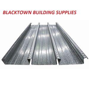 Bondek - GAL - 1mm - 590mm - Structural Steel Deck - 6.0 metre Length