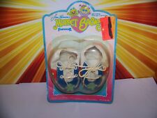 Vintage 80s Muppet Babies Kermit The Frog Footwear Plush Doll Shoes Jim Henson