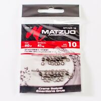 Matzuo America Stainless Steel Crane Swivels SSBS-10 - 15 pack