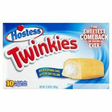 Hostess Twinkies Golden 10 Sponge Cakes 385G
