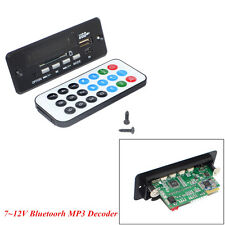 7~12V Car Handsfree Bluetooth MP3 Decoder Board Bluetooth USB Module With Remote
