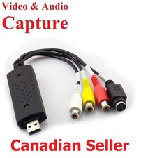 Brand New USB 2.0 Video Audio Capture Card Adapter VHS VCR TV to DVD Converter