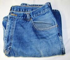 PRE-OWNED--BASIC EDITION--BLUE DENIM JEANS--40 X 32