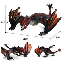 Western Dragon Fire Smaug Monster Dinosaur Figure Animal Collector Toy Kids Gift