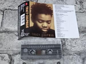 TRACY CHAPMAN - Self Titled Debut (UK)  / Cassette Tape Album / 1765