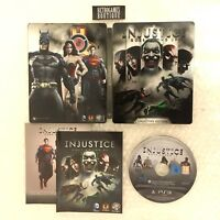 INJUSTICE Collector's Edition STEELBOX PS3 Playstation 3 PAL ITA