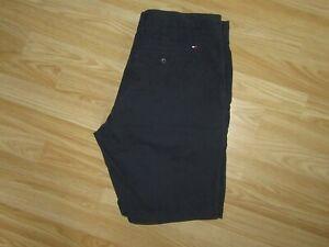 Mens TOMMY HILFIGER Navy Organic Cotton Chino Shorts Size W 34 Regular Fit VGC!