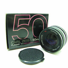 Carl Zeiss Planar T* 50mm F/1.7 MF Lens For CONTAX / YASHICA BOXED -BB-