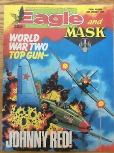 Eagle and Mask 28/1/89 Storm Force, Doomlord, Computer Warrior, IPC UK comic