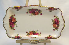 Royal Albert Bone China England OLD COUNTRY ROSES Large Sandwich Tray 11 3/4""