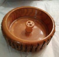 Beautiful Handmade Wooden Walnut Holder