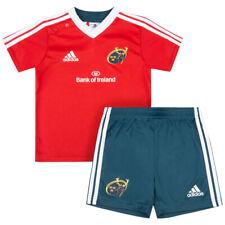 adidas Baby Kleinkinder Set Kit Munster Rugby Trikot Shorts Set G70180 Gr.68 neu