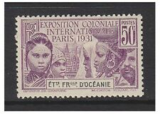 Oceanic Settlements - 1931, 50c Paris Exhibition stamp - M/M - SG 80