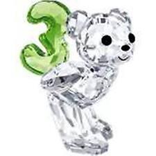 Swarovski Kris Bear Number Three 3 # 5108725 New in Original Box