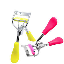 Eyelash Curler With Comb Tweezers Curling Clip Cosmetic Eye Beauty Hot