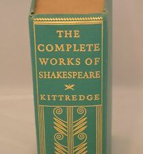 The Complete Works of William Shakespeare Library Edition 1936 Ginn & Co.  HC