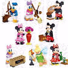 Cute Cartoon  Building Blocks Bricks Model Assembled Set Educational Toys