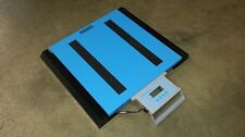 """Portable Truck Axle Scale 20,000 lb capacity wheel weigher - 22"""" x 20"""""""