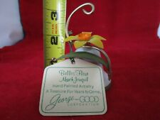 Vintage George Good March Jonquil Metal Flower Bell F/S