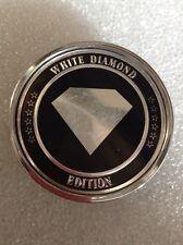 (1) White Diamond  WHEEL CENTER CAP HUB CAPS AFTERMARKET MC60N105 CK001 #A113