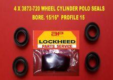 "4 X 3872-720  LOCKHEED WHEEL CYLINDER POLO SEALS 15/16"" BORE.  PROFILE 15"