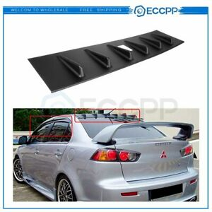 For 2008-2016 Mitsubishi Lancer Rear Top Roof Shark Fin Spoiler Wing