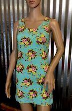 Woman's summer sun dress lightweight 95% cotton 5% spandex size Large