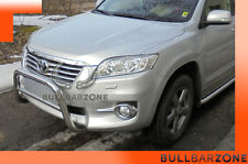 TOYOTA RAV4 III TUBO PROTEZIONE MEDIUM BULL BAR INOX STAINLESS STEEL