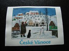 REPUBLIQUE TCHEQUE - carte postale - ceske vanoce (cy25)
