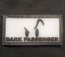 PVC GITD DEXTER DARK PASSENGER TACTICAL SWAT VELCRO® BRAND FASTENER PATCH