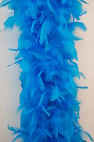 "Light Turquoise Teal 60 Gm 72/"" Costume Chandelle Feather Boa"