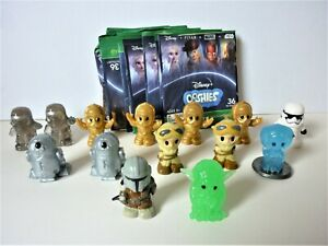Disney Ooshies x 14 - Star wars collection with packaging - b01342