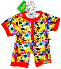 Build a Bear Sesame Street Characters Sleeper Colorful Teddy Size PJs Outfit HTF