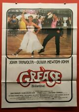 """Grease Musical Vintage Original Movie Poster (Italy 1978) Large Size - 39"""" x 55"""""""