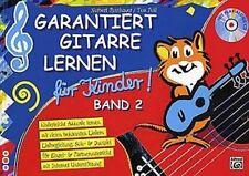 Roschauer: Garantiert Gitarre lernen für Kinder 2 + CD! Gitarrenschule Lehrbuch