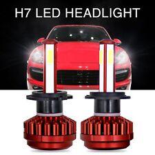 2 x 4 lati COB LED H7 auto fari 80W 16000LM lampada luce bianca 6000k Kit HID