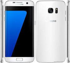 Téléphones mobiles blancs Samsung Galaxy S7 edge 4G