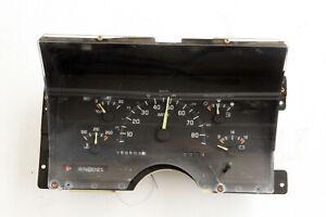 93 Chevy GMC Suburban Tahoe Speedometer Instrument Cluster OEM 158K 16140015