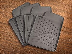 WeatherTech FloorLiner Drink Coasters - Floor Mat- 4 Pack