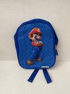 Authentic Nintendo Super Mario Backpack - Kids, Blue (2013)