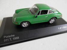 WhiteBox WBX040. 1/43. Porsche 911T Light Green.