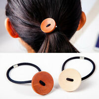 Fashion Button Elastic Hair Bands Rubber Bands Hairband Women Hair Accessories
