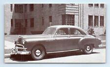 1949 PONTIAC CHIEFTAIN 4-Door Sedan Car Advertising Postcard