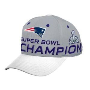 NEW 2014 Patriots Super Bowl XLIX 2015 Champions Snapback Hat YOUTH BOYS 8-20