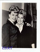 Doris Day w/ standin Ruth Gordon VINTAGE Photo Julie candid on set