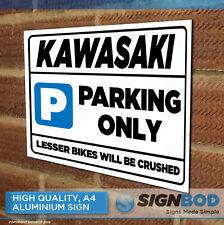 KAWASAKI Owner Parking Metal Sign Gift - Birthday Present