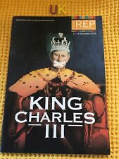 More details for scarce programme , the rep theatre , king charles iii